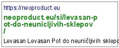 https://neoproduct.eu/si/levasan-pot-do-neunicljivih-sklepov/